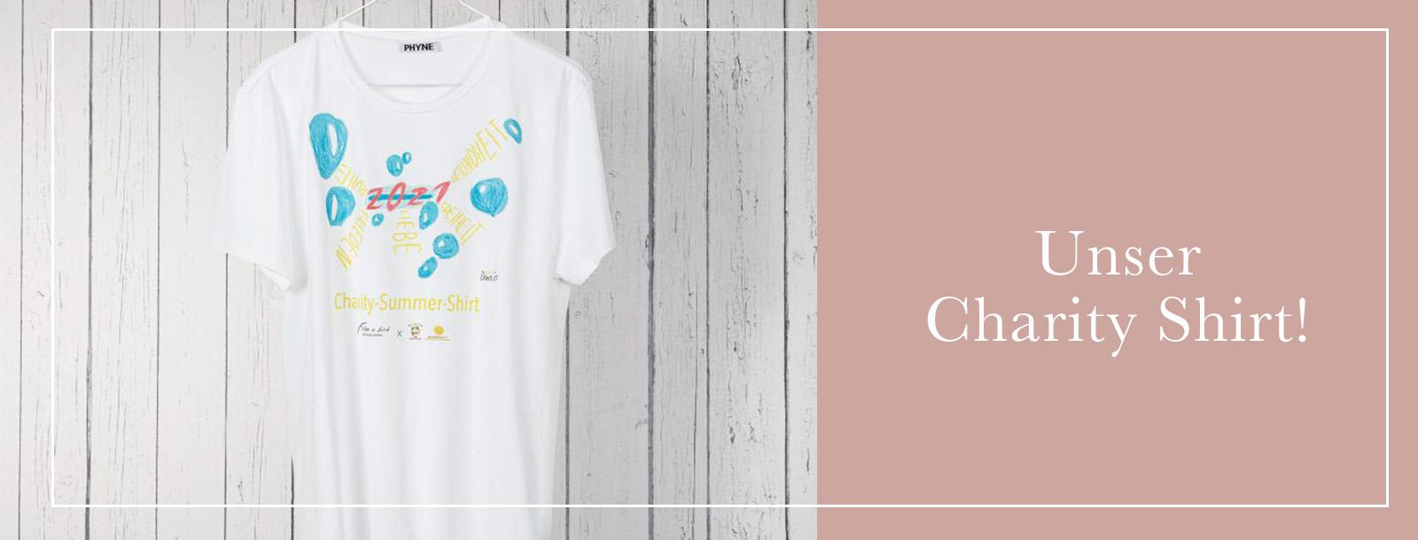 Informationen zum Charity Shirt!