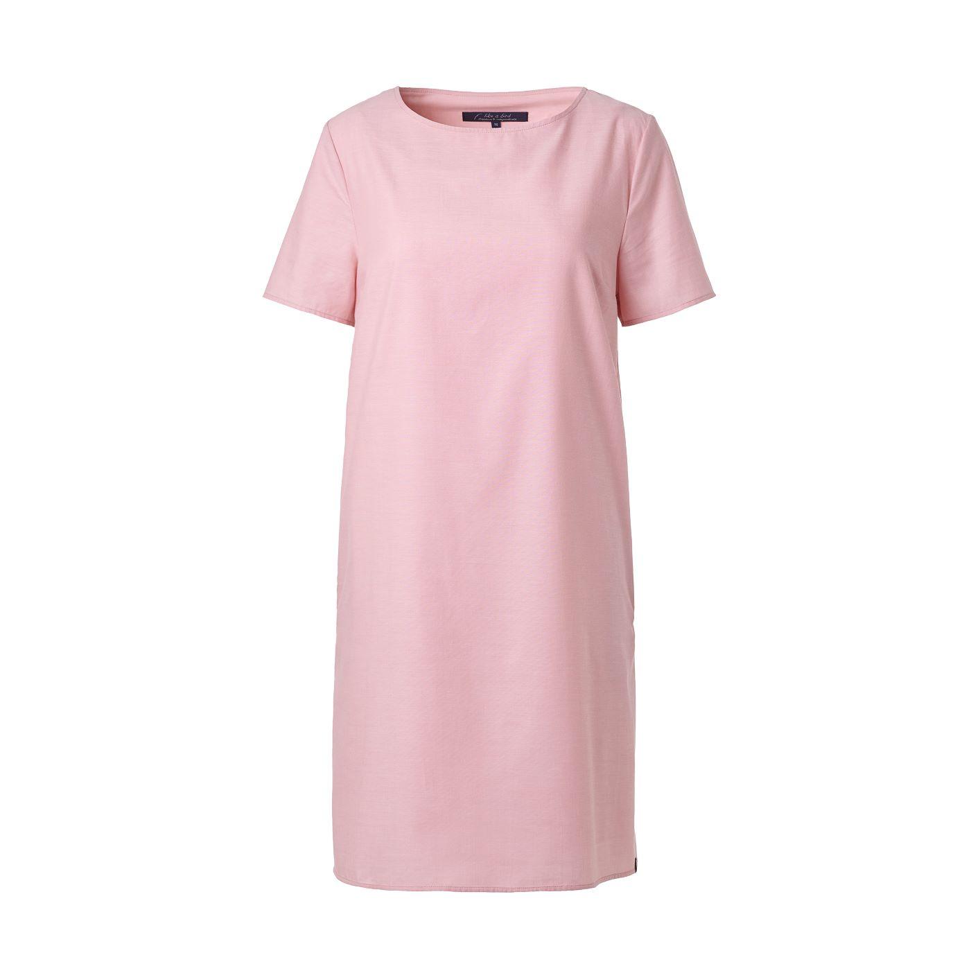 Schlichtes Sommerkleid aus Rosenviskose